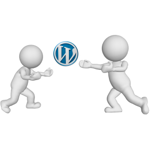 Peleando por WordPress